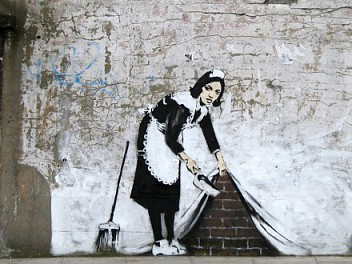 Banksy: Biography, Works and Exhibitions