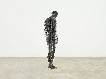 Gormley at the Royal Academy: a discourse in iron