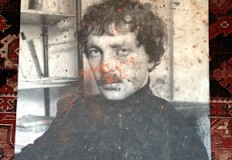 Rudolf Stingel at the Palazzo Grassi, Venice.