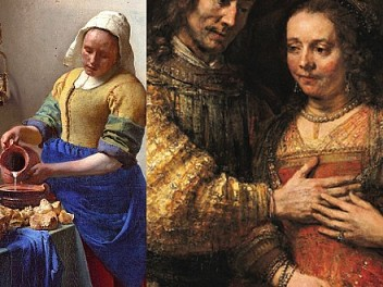 Rembrandt frente a Vermeer