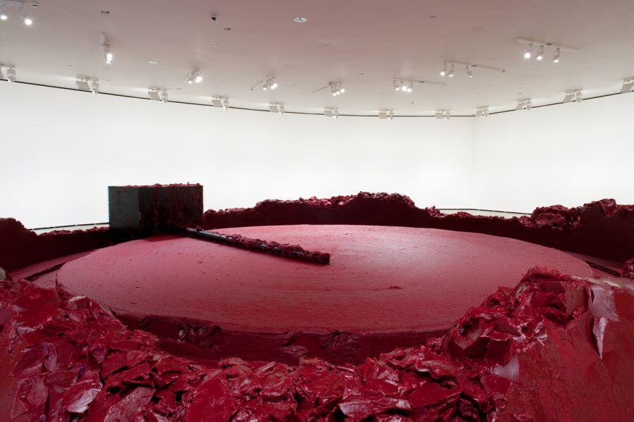 Anish Kapoor - Mi patria roja