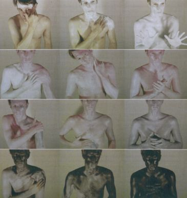 Bruce Nauman Art Make-Up