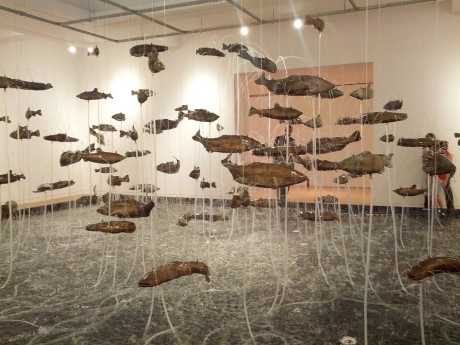 Bruce Nauman One Hundred Fish Fountain