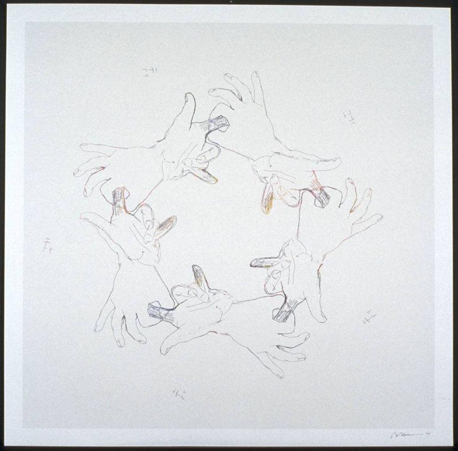 Bruce Nauman Untitled