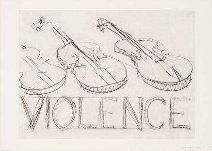 Bruce Nauman violins-violonce