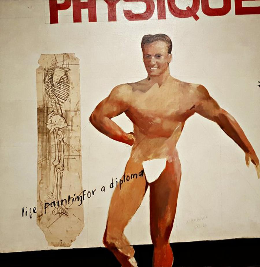David-Hockney-Life-Painting-for-a-Diploma-1962.-Yageo-Foundation