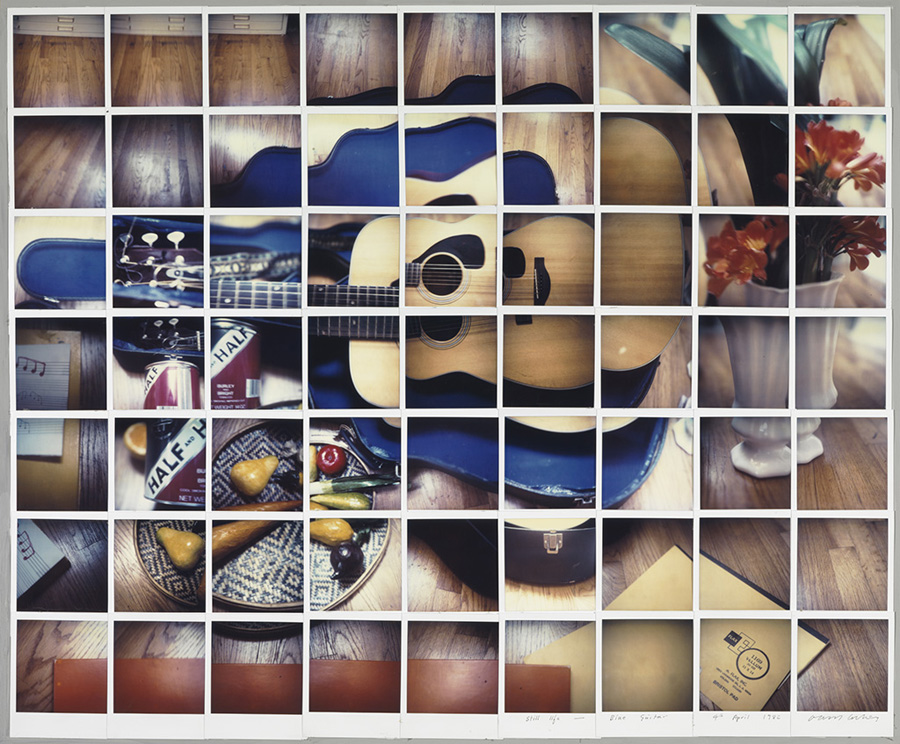 still life with blue guitar