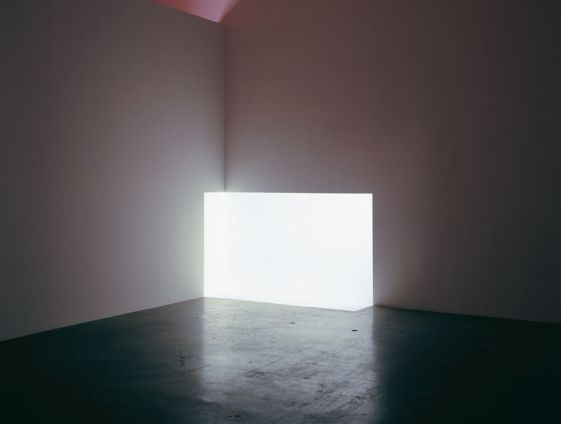 James Turrell obras carn white