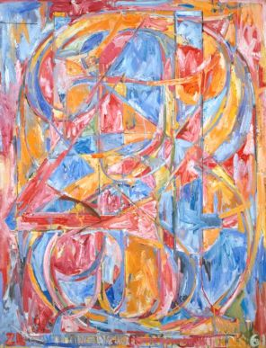 Jasper Johns 0 through 9