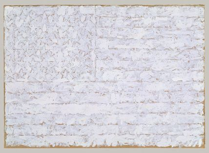 Jasper Johns White flag