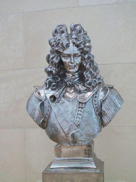 Jeff-Koons rey Luis XIV