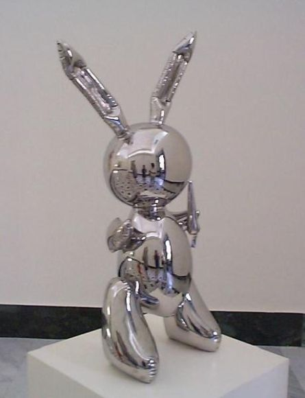 rabbit jeff koons