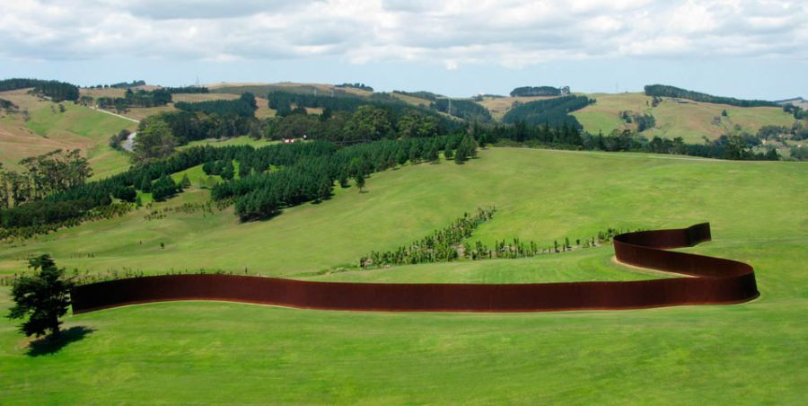 Richard Serra Obras Lands Art