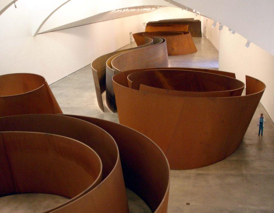 Richard Serra Obras Snake Guggenheim Bilbao
