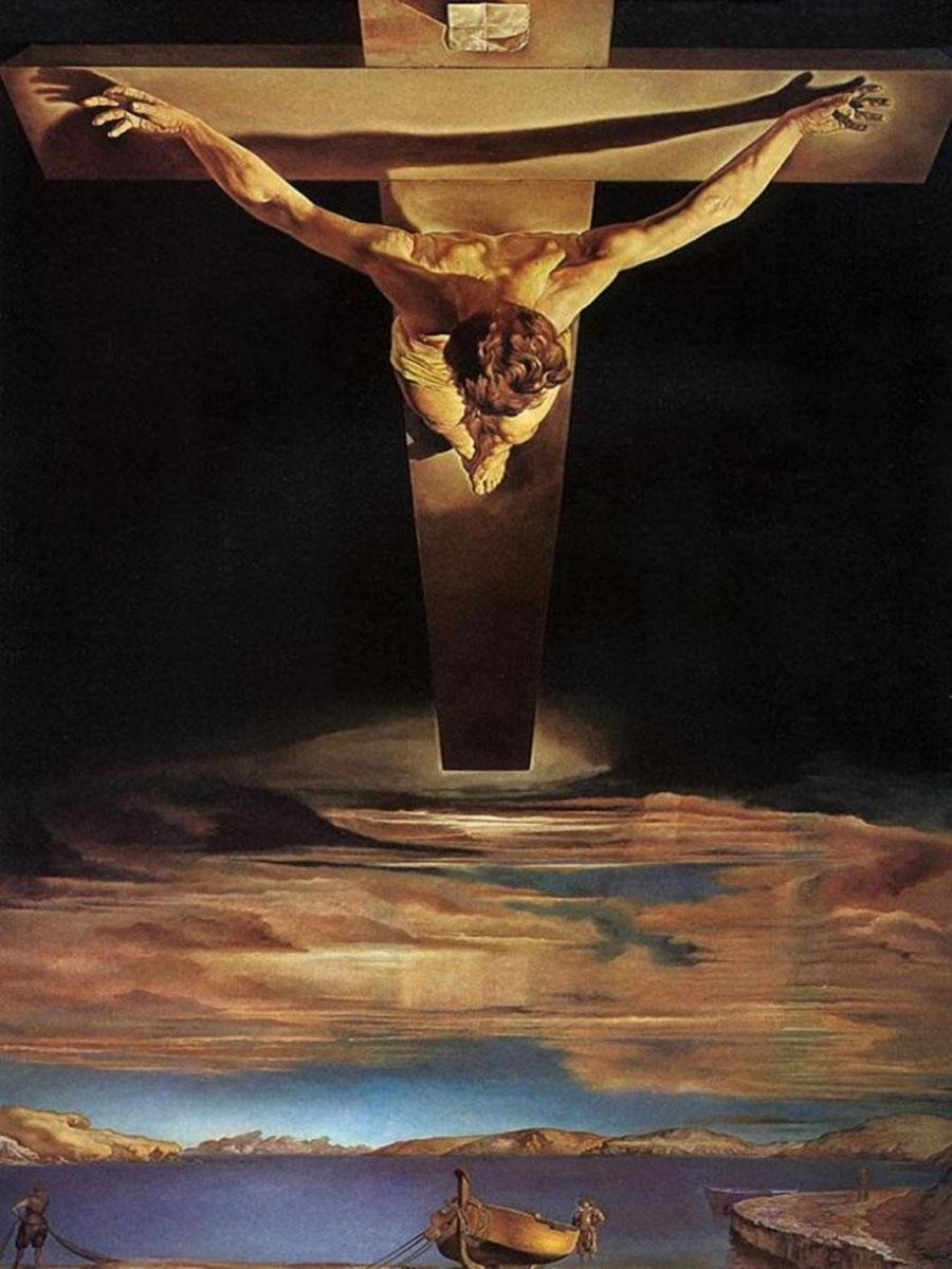 Salvador Dali jesucristo noticias totenart 768x1024
