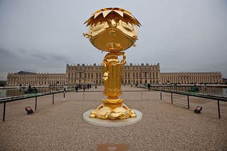 8 Oval Gold Buddha Versailles