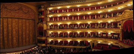 Teatro Real en Madrid