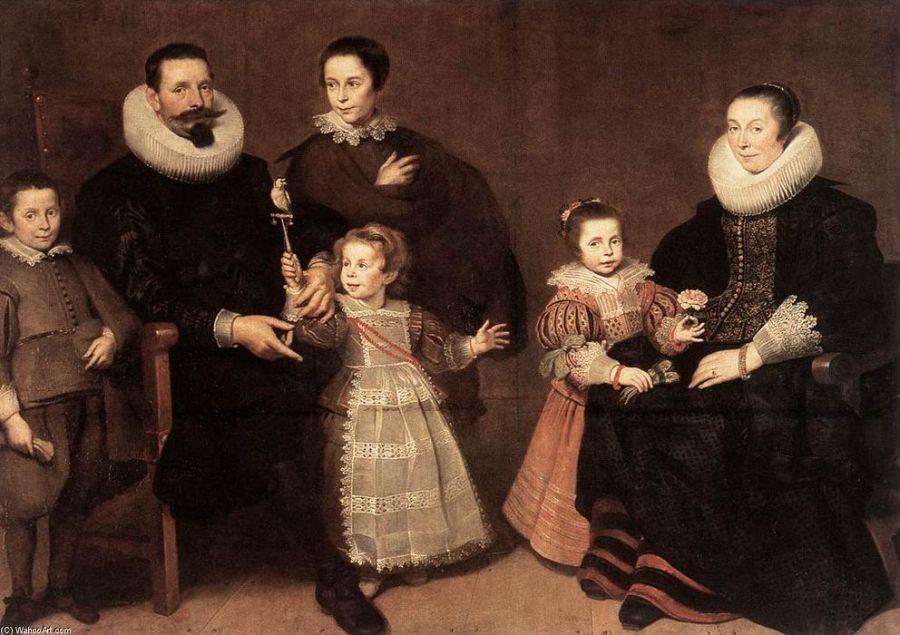 Cornelis De Vos Family Portrait Carlos de Amberes