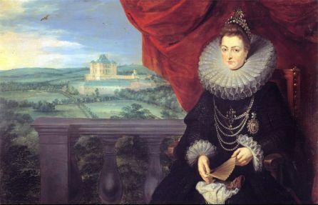 Infanta Isabel Clara Eugenia Rubens Carlos Amberes