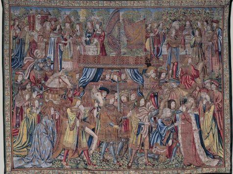 Los funerales del rey Turno Carlos Amberes