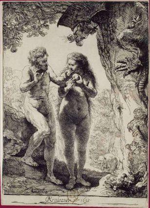 Rembrandt adan y eva Carlos Amberes