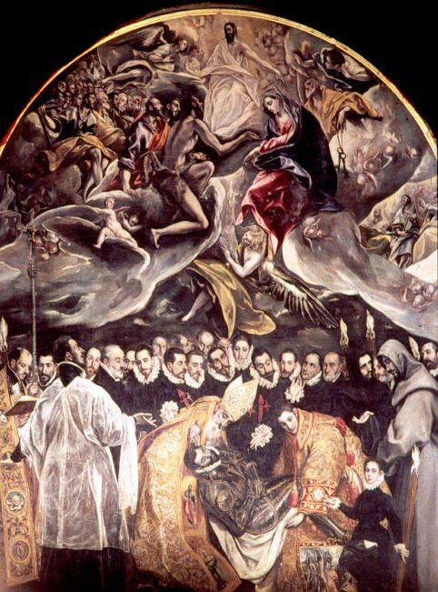 El Greco Conde Orgaz