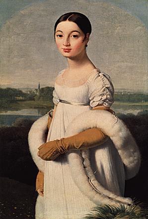 Retrato de Caroline Riviere