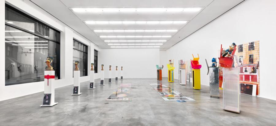 Hauser Wirth London Savile Row Isa Genzken Installation view 13