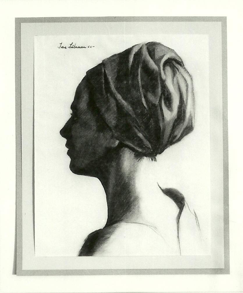 Irene Iribarren autorretrato