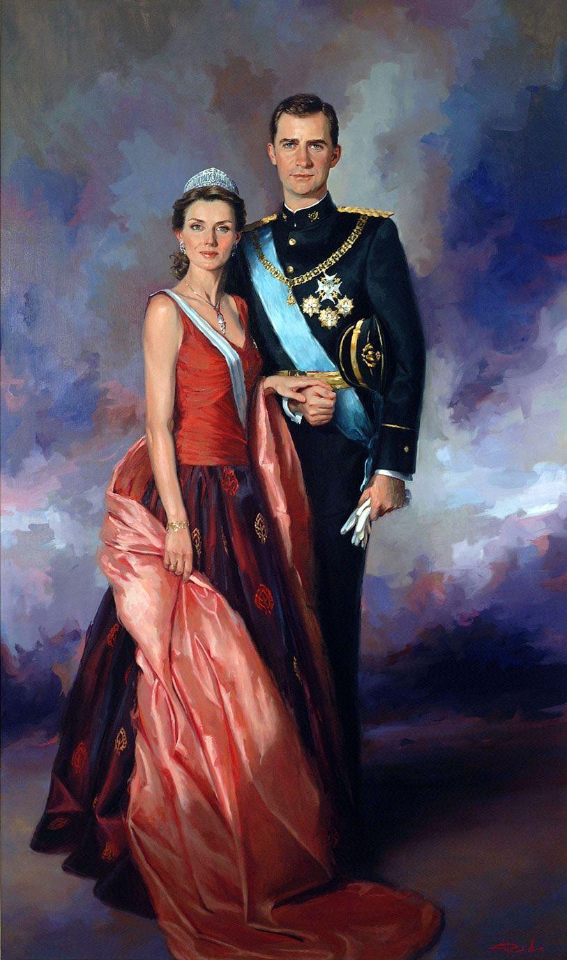Ricardo-Sanz-Retrato-de-SS-AA-RR-Los-Principes-de-Asturias-210X130-cms