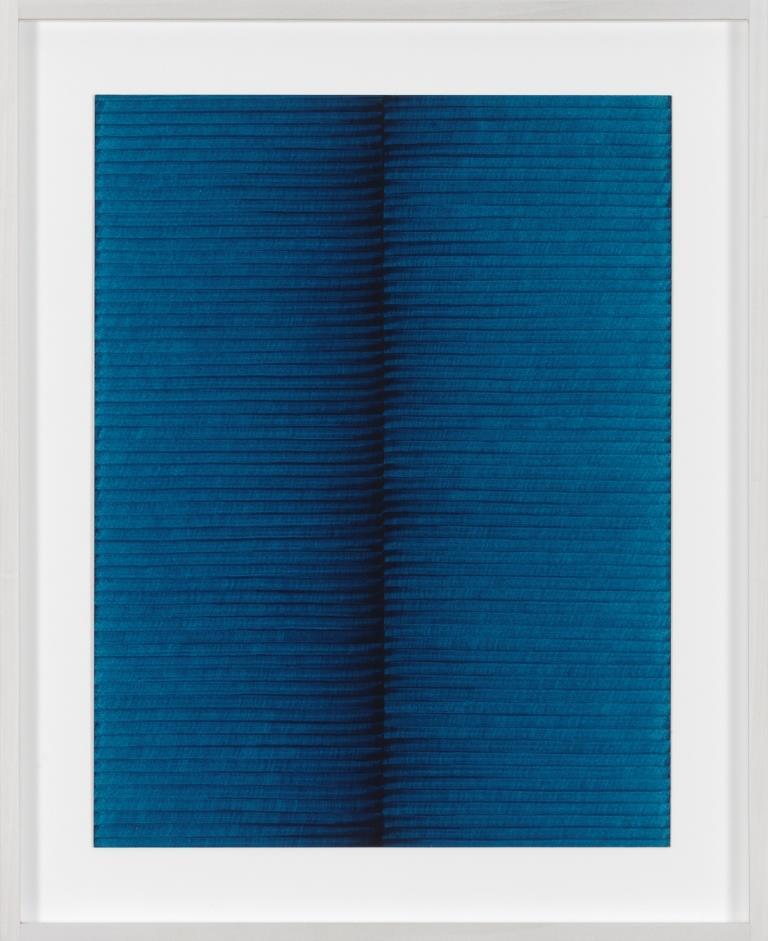 Irma Blank Ur-schrift ovvero Avant-testo C 15-4-98 1998 ballpoint pen on paper