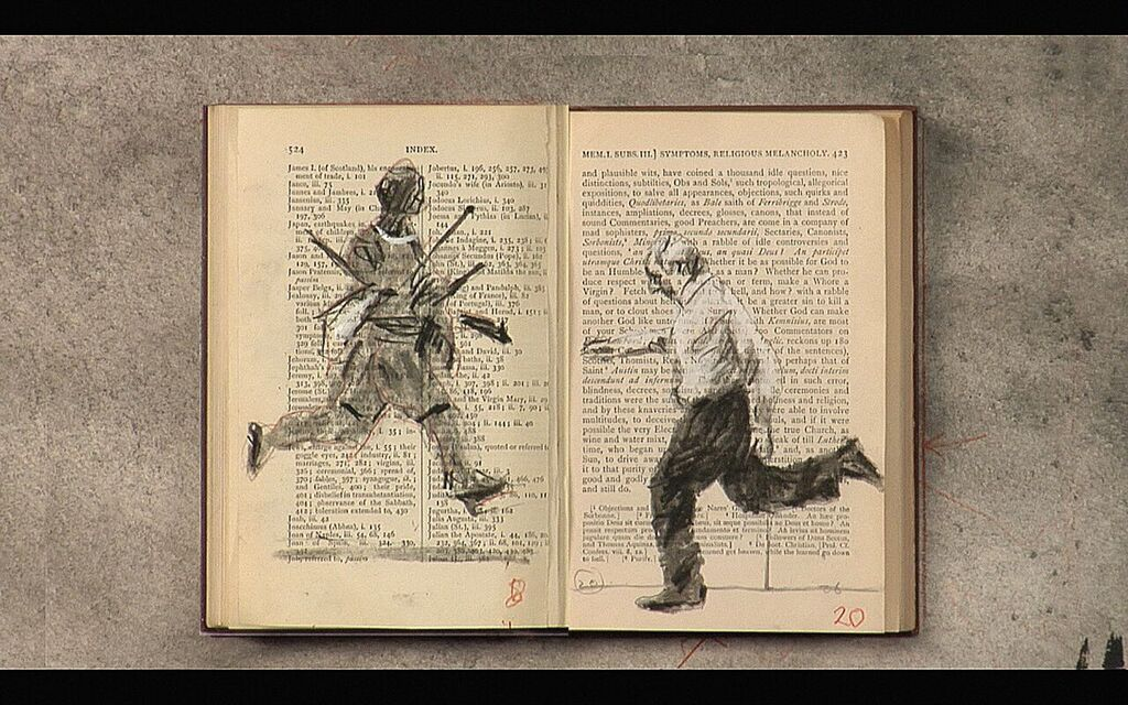 William Kentridge Tango For Page Turning 2012-2013 hr