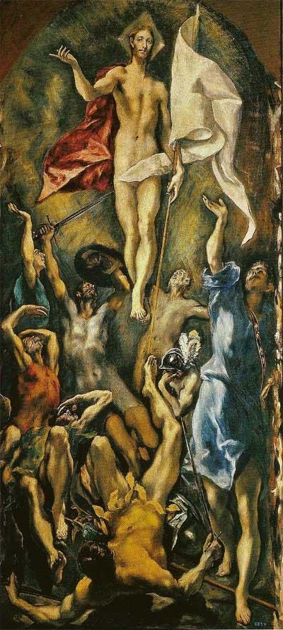 Resurrecion de Cristo El Greco