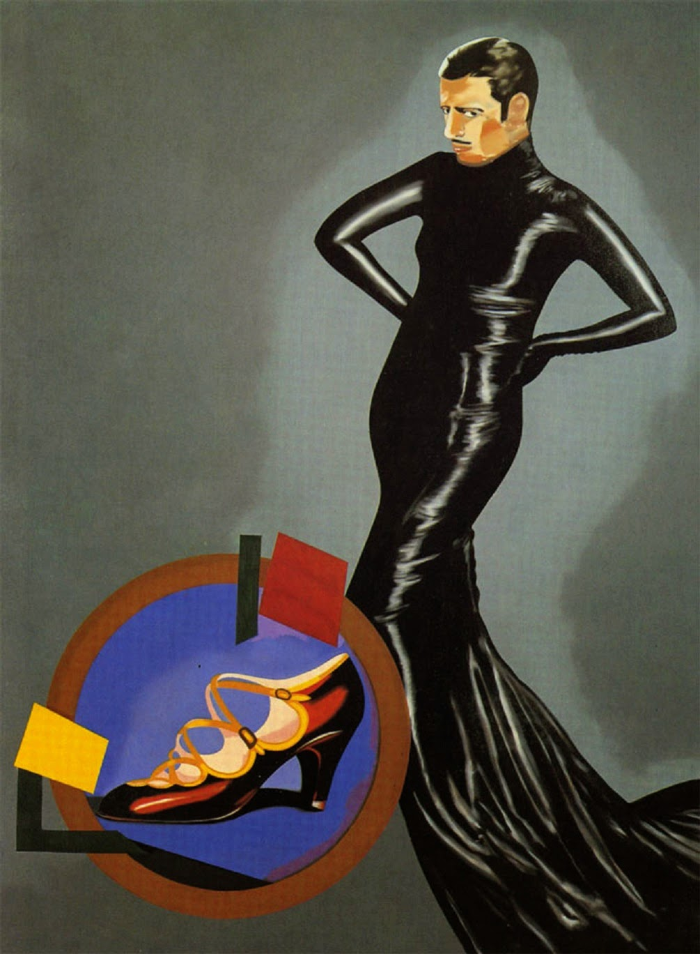 Eduardo Arroyo, 'Caballero español', 1970.