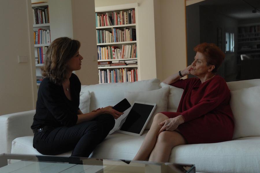 ELENA CUE y Carmen Giménez