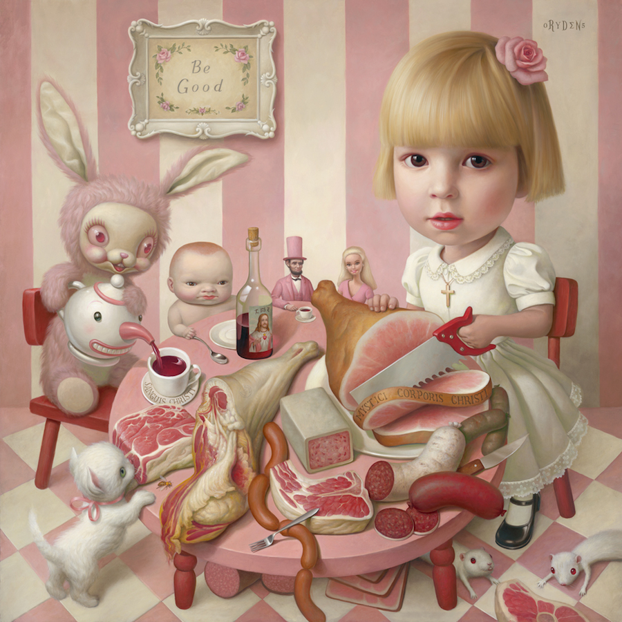 Mark Ryden. Rosie's Tea Party.