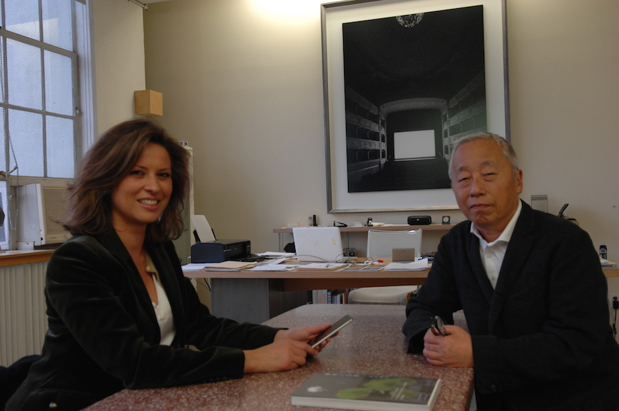 Elena Cué Hiroshi Sugimoto