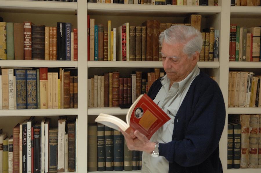 Mario Vargas Llosa. Foto Elena Cue