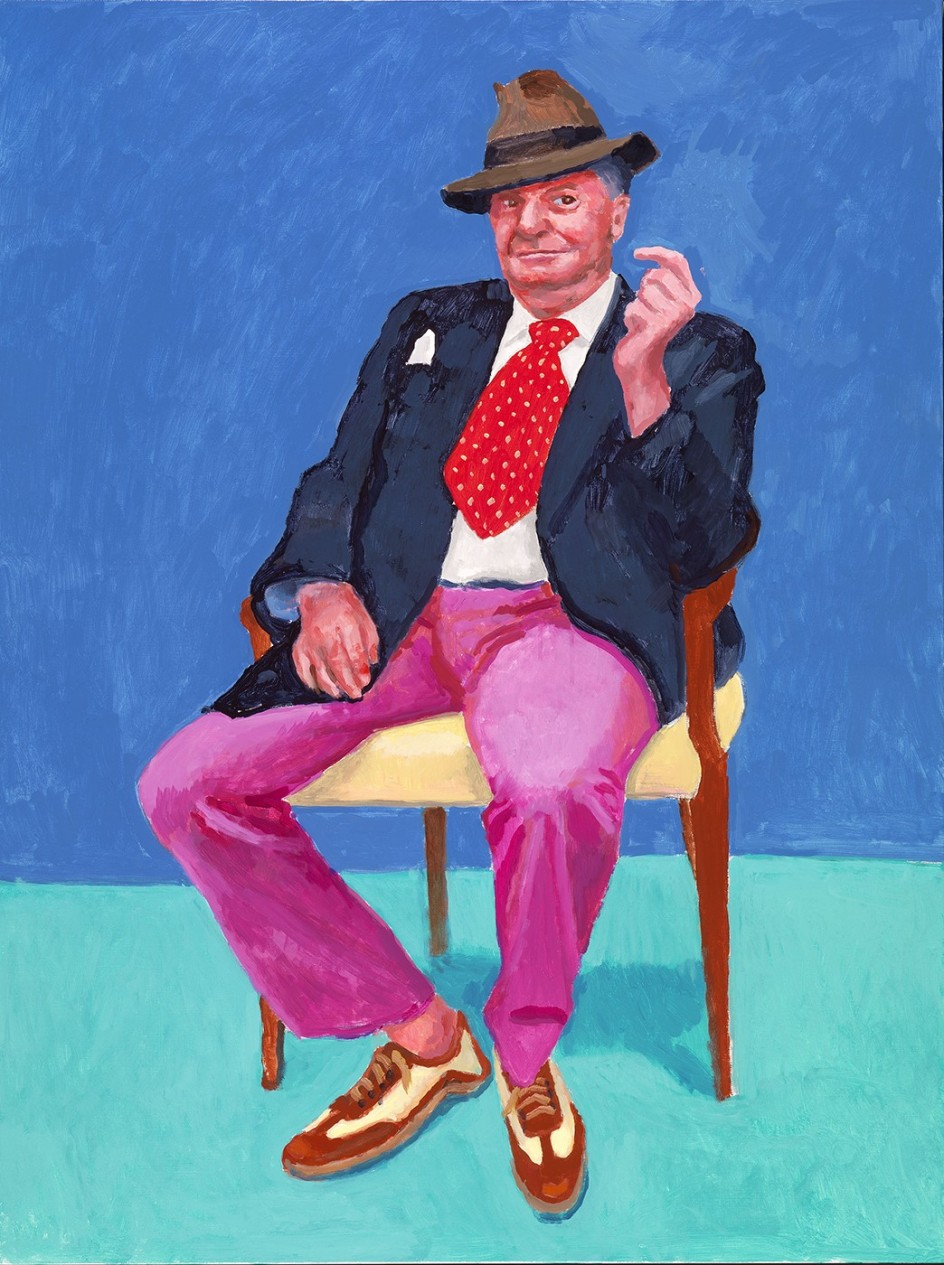 David Hockney - Barry Humphries