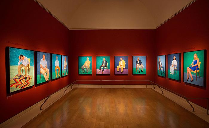David Hockney - Galería