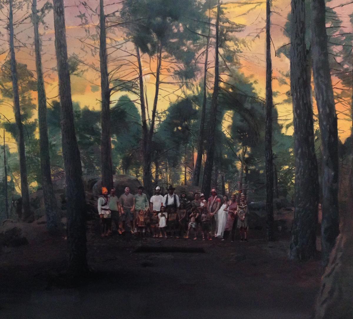 Amantes dels rovellons ante vestigios aztecas