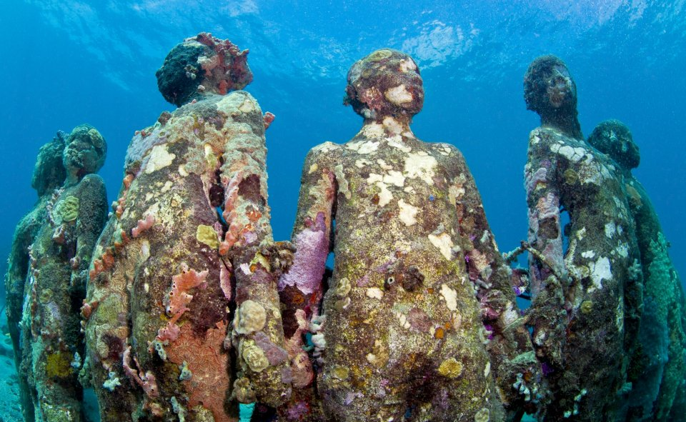 sculpture-modern-art. Jason deCaires Taylor