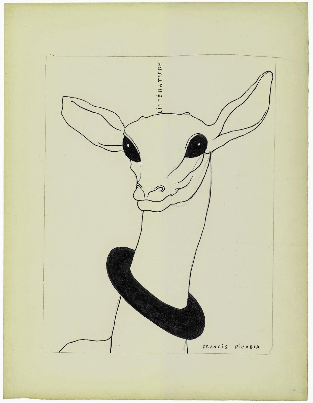 018. Picabia Projet de couverture Litt rature 1922 1924