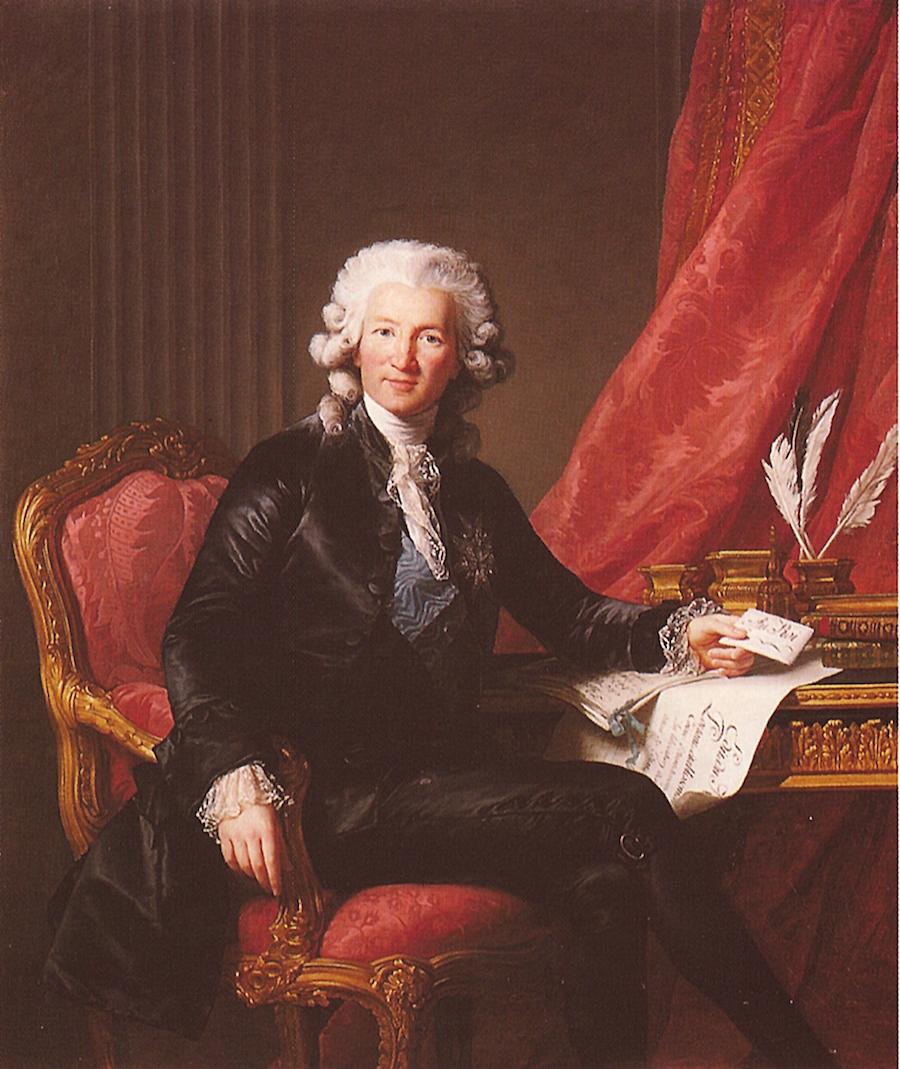 Élisabeth Louise Vigée Le Brun: portrait-of-charles-alexandre-de-calonne-1784