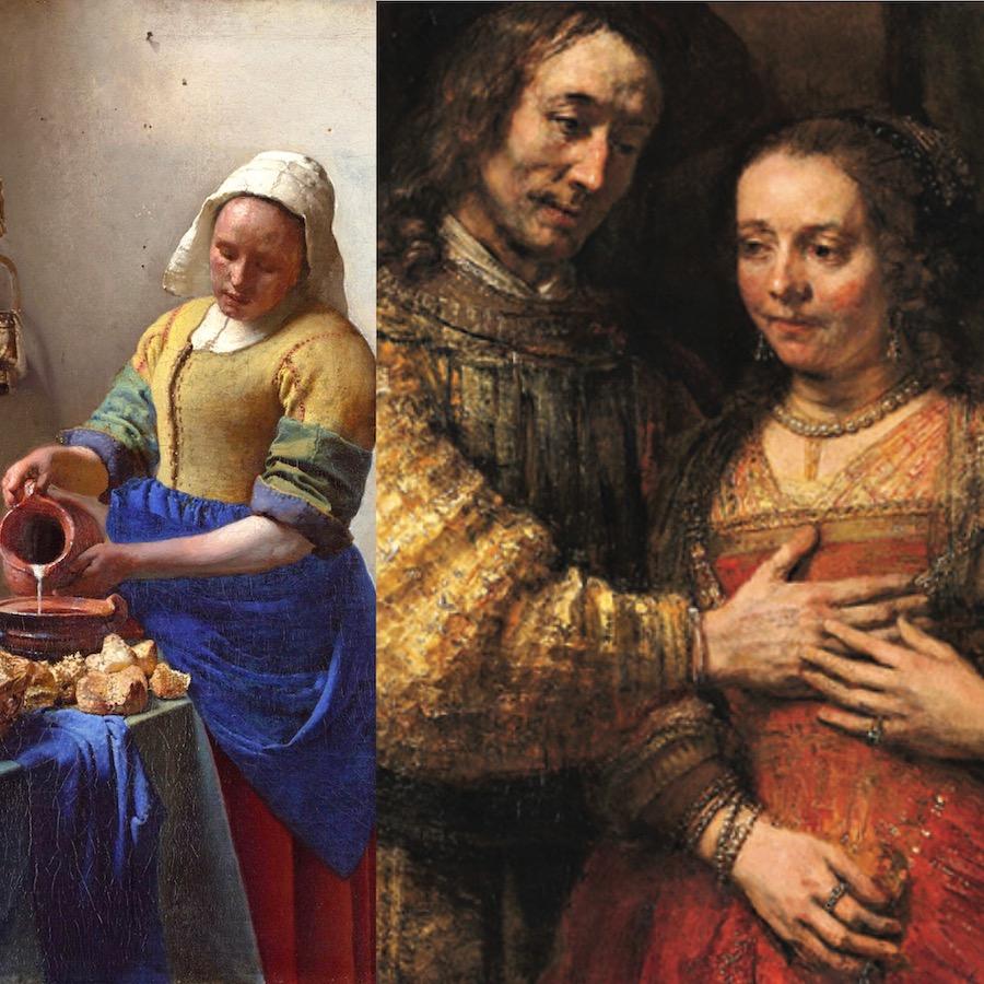 Vermeer Rembrandt
