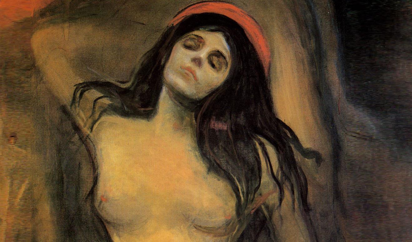 Edvard Munch. Madonna.-1894-1
