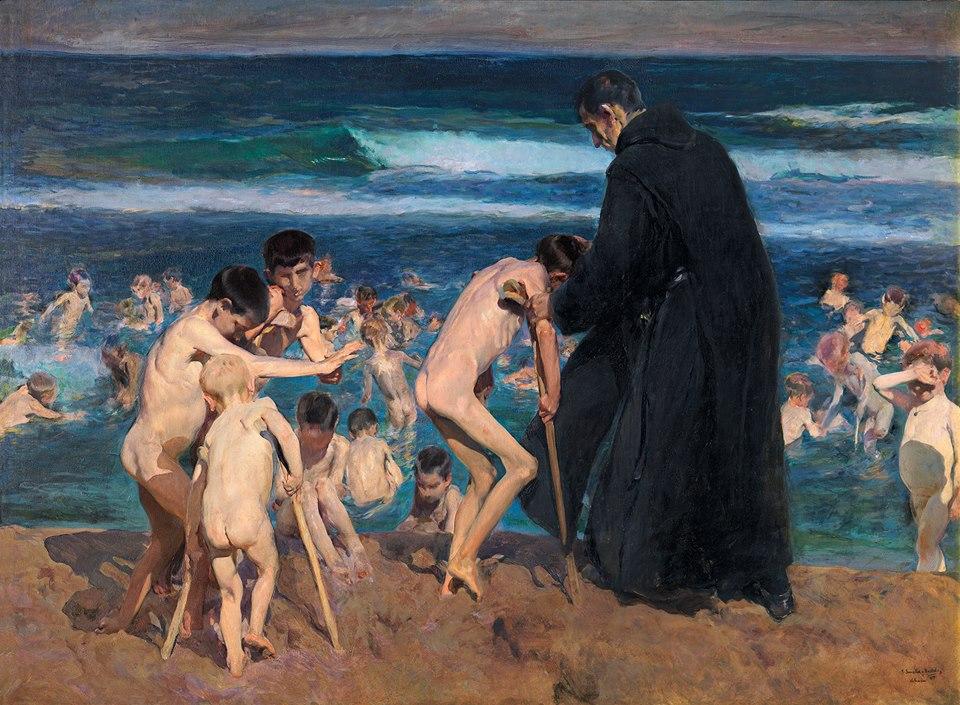 Sorolla: ¡Triste herencia!, 1899.