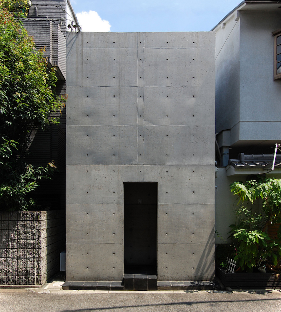 Row House in Sumiyoshi  Tadao Ando - Нет architecture
