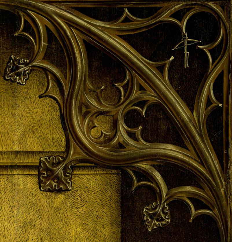 davallament de la creu de Rogier van der Weyden detall 3 3