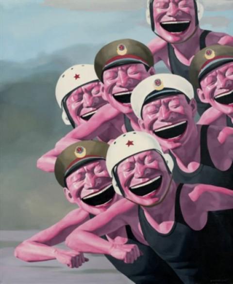 yue minjun peinture